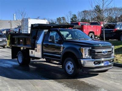 2019 F-550 Regular Cab DRW 4x4, Iroquois Brave Series Steel Dump Body #N8536 - photo 1