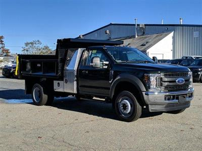 2019 F-550 Regular Cab DRW 4x4,  Iroquois Brave Series Steel Dump Body #N8538 - photo 1
