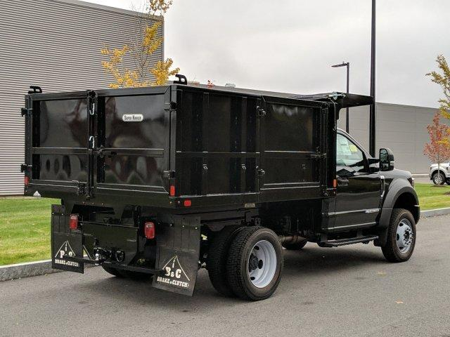 2019 F-550 Regular Cab DRW 4x4, SH Truck Bodies Landscape Dump #N8539 - photo 2
