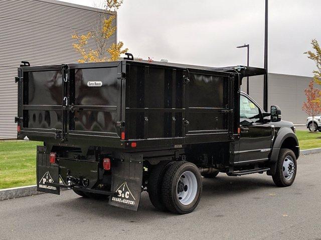 2019 Ford F-550 Regular Cab DRW 4x4, SH Truck Bodies Landscape Dump #N8539 - photo 1