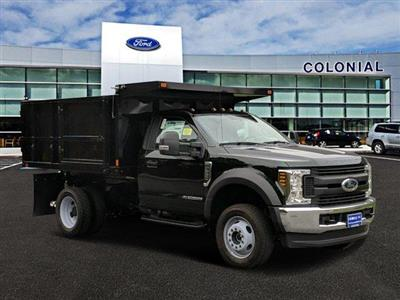 2019 F-550 Regular Cab DRW 4x4, SH Truck Bodies Landscape Dump #N8539 - photo 1