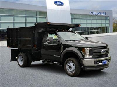 2019 F-550 Regular Cab DRW 4x4, SH Truck Bodies Landscape Dump #N8539 - photo 1