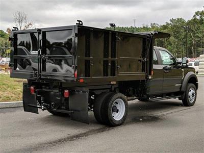 2019 F-450 Super Cab DRW 4x4, SH Truck Bodies Landscape Dump #N8543 - photo 2