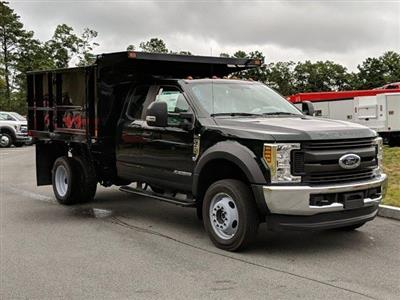 2019 F-450 Super Cab DRW 4x4, SH Truck Bodies Landscape Dump #N8543 - photo 3