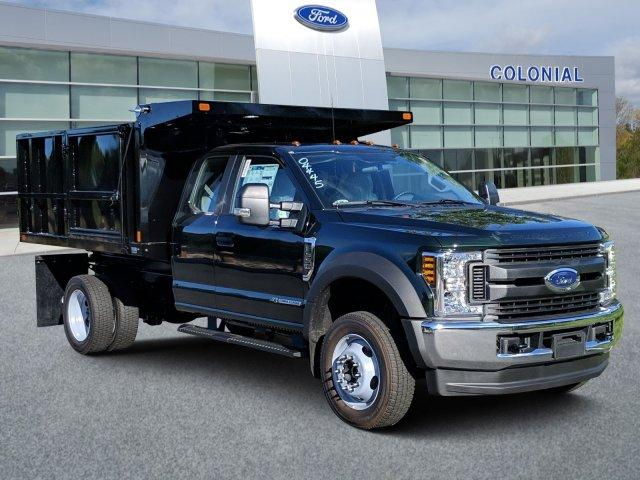 2019 F-550 Super Cab DRW 4x4, SH Truck Bodies Landscape Dump #N8545 - photo 1