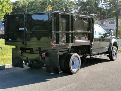 2019 F-550 Super Cab DRW 4x4,  SH Truck Bodies Landscape Dump #N8545 - photo 2