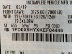 2019 Ford F-550 Super Cab DRW 4x4, Reading Marauder Dump Body #N8546 - photo 6
