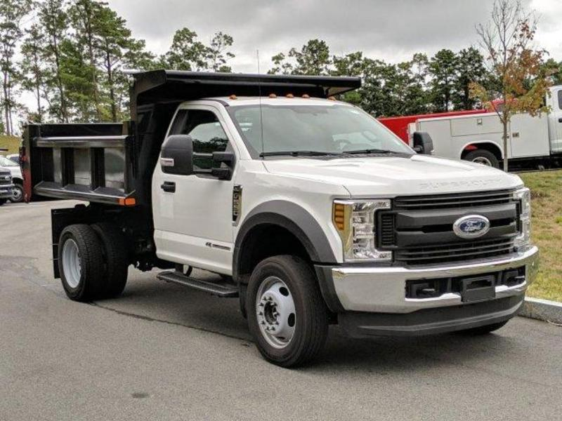 2019 F-550 Regular Cab DRW 4x4, Air-Flo Pro-Class Dump Body #N8595 - photo 3