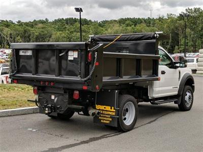 2019 F-550 Regular Cab DRW 4x4,  Air-Flo Pro-Class Dump Body #N8595 - photo 2