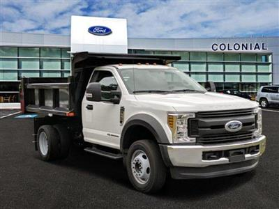 2019 F-550 Regular Cab DRW 4x4,  Air-Flo Pro-Class Dump Body #N8595 - photo 1