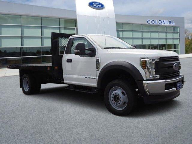 2019 Ford F-550 Regular Cab DRW 4x4, Knapheide Value-Master X Platform Body #N8617 - photo 1