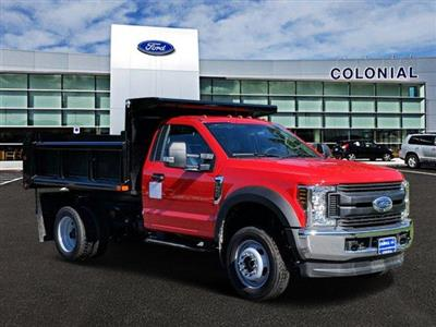 2019 F-550 Regular Cab DRW 4x4, Air-Flo Pro-Class Dump Body #N8622 - photo 1