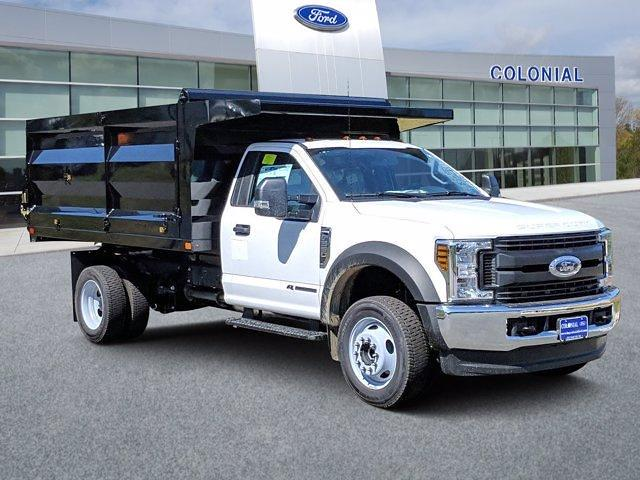 2019 Ford F-550 Regular Cab DRW 4x4, Rugby Landscape Dump #N8626 - photo 1