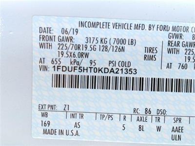 2019 Ford F-550 Regular Cab DRW 4x4, Rugby Landscape Dump #N8626 - photo 3