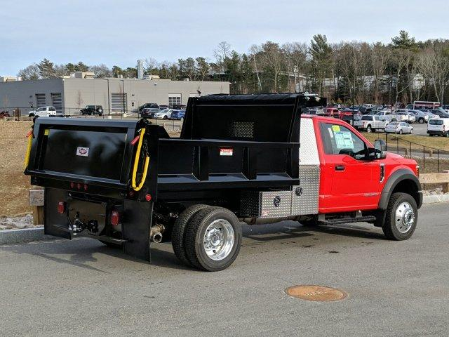 2019 Ford F-550 Regular Cab DRW 4x4, Iroquois Dump Body #N8638 - photo 2