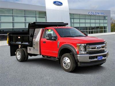 2019 Ford F-550 Regular Cab DRW 4x4, Iroquois Dump Body #N8638 - photo 1