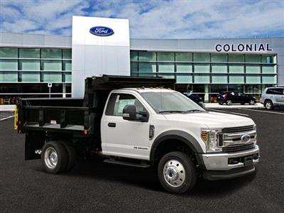 2019 F-550 Regular Cab DRW 4x4, Iroquois Brave Series Steel Dump Body #N8642 - photo 1