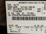 2019 F-550 Regular Cab DRW 4x4,  Dump Body #N8644 - photo 18