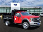 2019 F-550 Regular Cab DRW 4x4,  Iroquois Brave Series Steel Dump Body #N8645 - photo 1