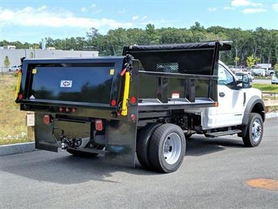 2019 F-550 Regular Cab DRW 4x4,  Iroquois Brave Series Steel Dump Body #N8646 - photo 2