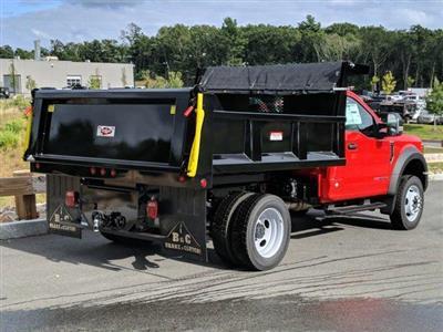 2019 Ford F-550 Regular Cab DRW 4x4, Iroquois Brave Series Steel Dump Body #N8648 - photo 2