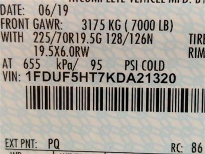 2019 Ford F-550 Regular Cab DRW 4x4, Iroquois Brave Series Steel Dump Body #N8648 - photo 6