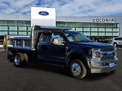 2019 Ford F-550 Super Cab DRW 4x4, Iroquois Brave Series Stainless Steel Dump Body #N8652 - photo 7