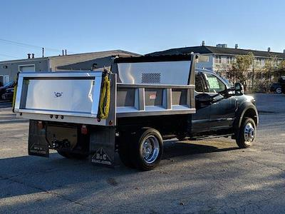 2019 Ford F-550 Super Cab DRW 4x4, Iroquois Brave Series Stainless Steel Dump Body #N8652 - photo 2