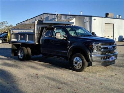 2019 F-550 Super Cab DRW 4x4, Iroquois Brave Series Stainless Steel Dump Body #N8652 - photo 3