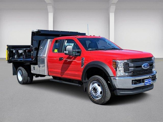 2019 Ford F-550 Super Cab DRW 4x4, Iroquois Brave Series Steel Dump Body #N8655 - photo 1