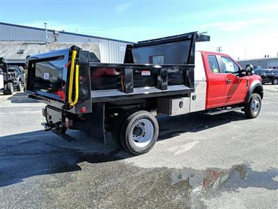 2019 Ford F-550 Super Cab DRW 4x4, Iroquois Brave Series Steel Dump Body #N8655 - photo 2