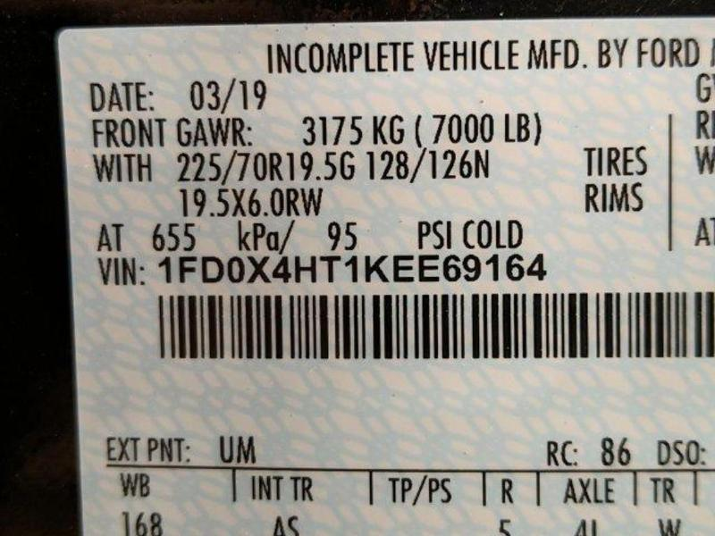 2019 F-450 Super Cab DRW 4x4, Reading Classic II Aluminum  Service Body #N8657 - photo 23