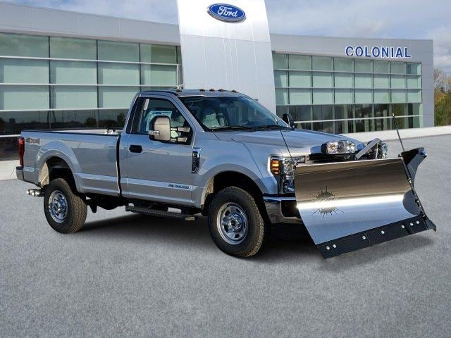 2019 F-350 Regular Cab 4x4, Fisher Snowplow Pickup #N8696 - photo 2