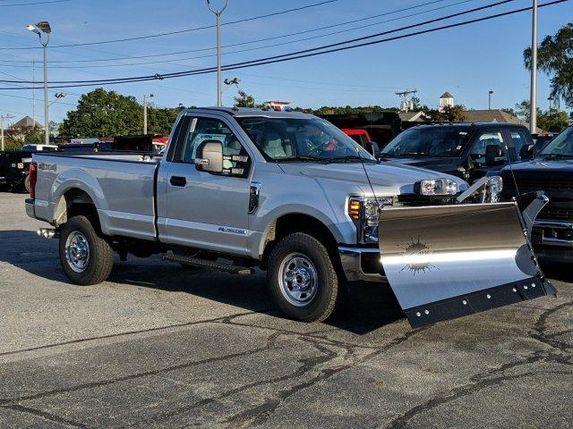 2019 F-350 Regular Cab 4x4, Fisher Snowplow Pickup #N8696 - photo 3
