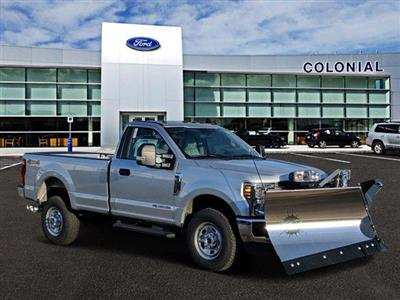 2019 F-350 Regular Cab 4x4, Fisher Snowplow Pickup #N8696 - photo 1