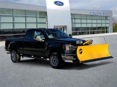 2019 F-250 Super Cab 4x4, Fisher Snowplow Pickup #N8718 - photo 1