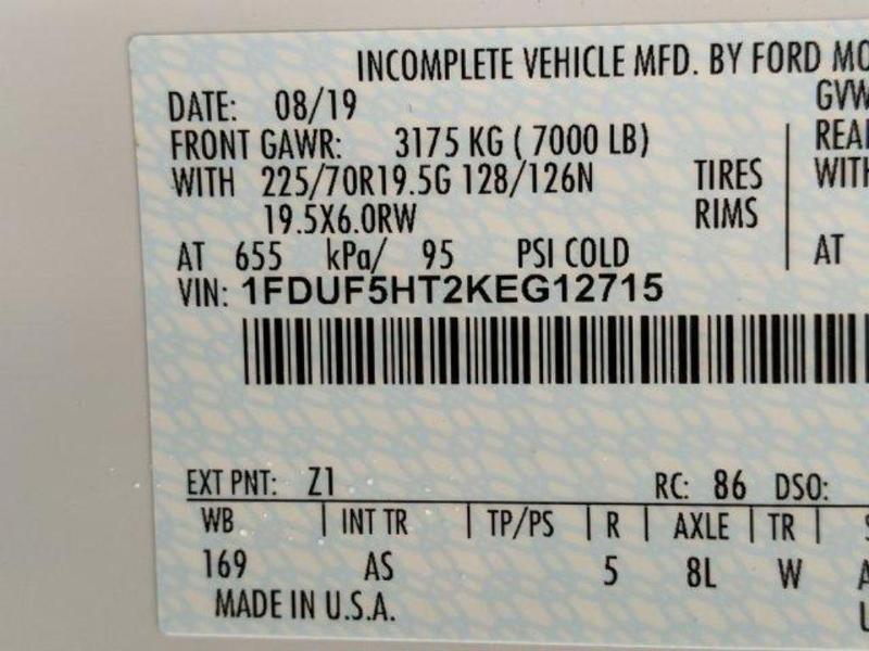 2019 F-550 Regular Cab DRW 4x4, Switch N Go Drop Box Hooklift Body #N8724 - photo 18
