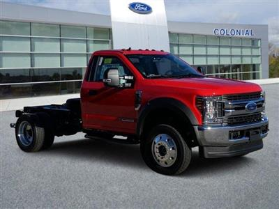 2019 Ford F-550 Regular Cab DRW 4x4, Cab Chassis #N8726 - photo 1