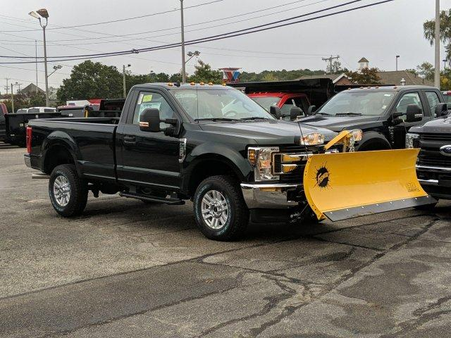 2019 F-350 Regular Cab 4x4, Fisher Snowplow Pickup #N8748 - photo 3