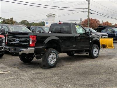 2019 F-350 Regular Cab 4x4, Fisher Snowplow Pickup #N8748 - photo 2
