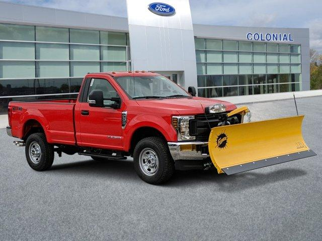 2019 F-350 Regular Cab 4x4, Fisher Snowplow Pickup #N8758 - photo 1