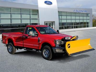 2019 F-350 Regular Cab 4x4, Fisher Snowplow Pickup #N8771 - photo 1