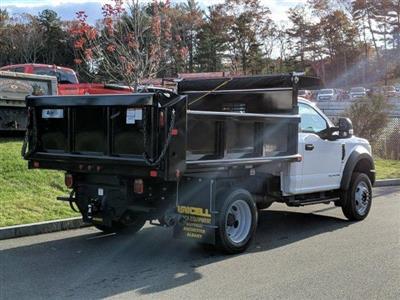 2019 F-550 Regular Cab DRW 4x4, Air-Flo Pro-Class Dump Body #N8785 - photo 2