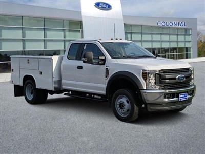2019 Ford F-450 Super Cab DRW 4x4, Reading Classic II Steel Service Body #N8786 - photo 1