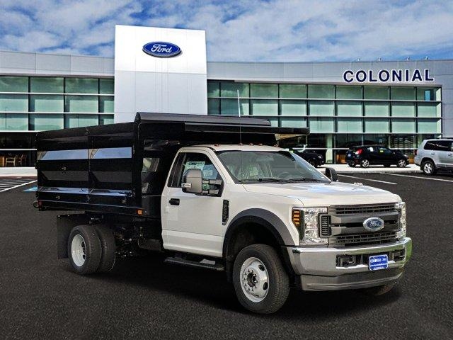 2019 F-550 Regular Cab DRW 4x4,  Rugby Landscape Dump #N8795 - photo 1