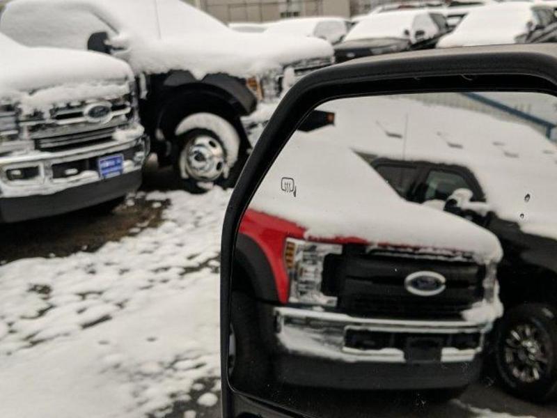 2019 F-350 Regular Cab 4x4, Fisher Snowplow Pickup #N8842 - photo 8