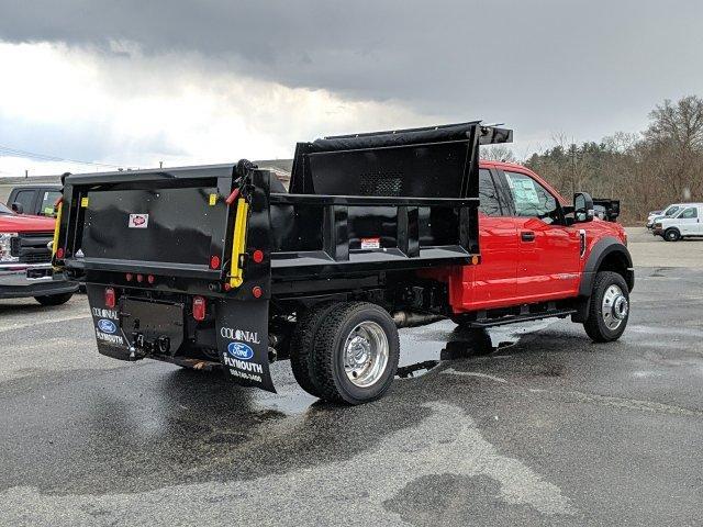 2019 F-550 Super Cab DRW 4x4, Iroquois Brave Series Steel Dump Body #N8858 - photo 2