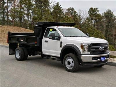 2019 F-550 Regular Cab DRW 4x4, Dump Body #N8885 - photo 1