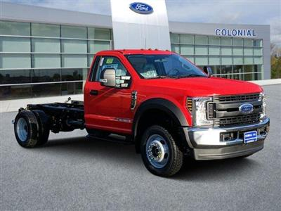 2019 F-550 Regular Cab DRW 4x4, Cab Chassis #N8912 - photo 1