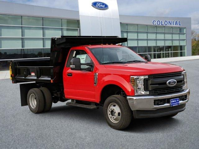 2019 F-350 Regular Cab DRW 4x4, Iroquois Brave Series Steel Dump Body #N9023 - photo 1